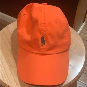 Ralph Lauren Orange Hat